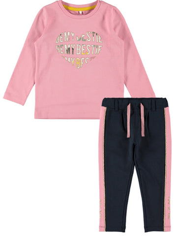 Name it Girls 2-Piece Top and Sweatpants