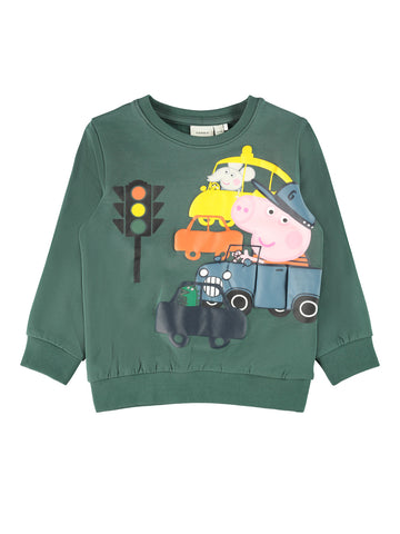 Name it Toddler Boy Colourful Peppa Pig Sweatshirt
