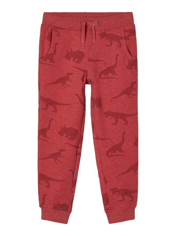 Name it Boys Dinosaur Print Sweat Pants