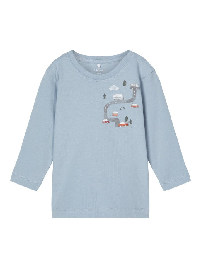 Name it Baby Boy Car Print Cotton Top