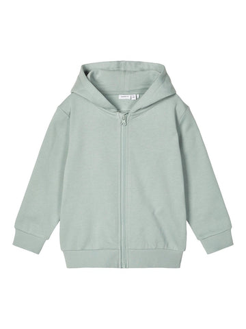 Name it Mini Boy Blue Zip-Up Hoodie Sweatshirt