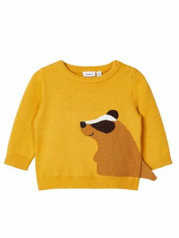 Name it Baby Boy Long Sleeved Knitted Jumper