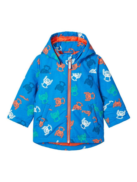 Name it boys Tractor Print Winter Jacket