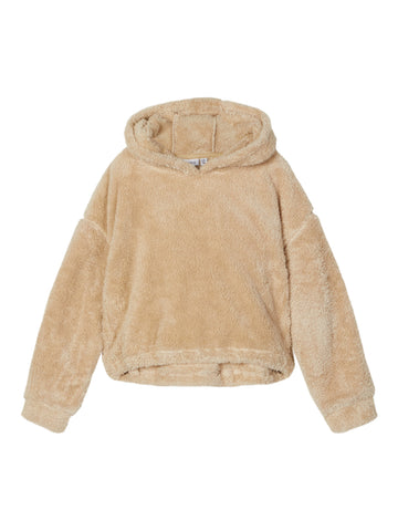 Name it Girls Fluffy Hooded Sweat Top