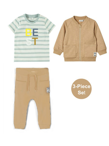 "Name it Baby Boy ""I'm The Best"" 3-Piece Set"