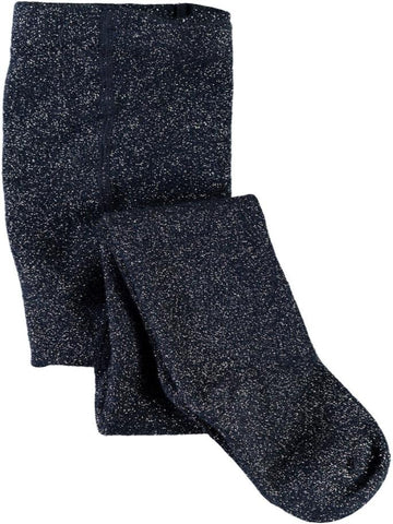 Name it Girls Solid Navy Tights with Glitter Effect