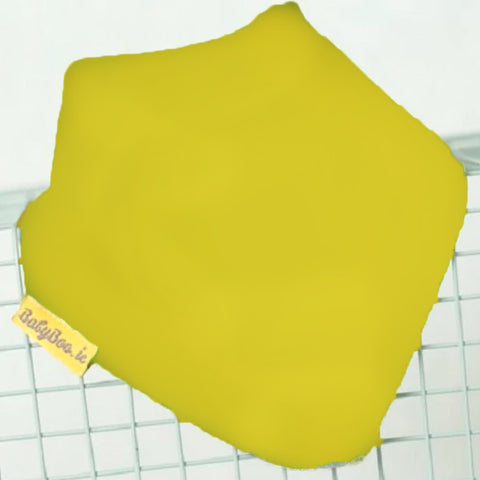 Babyboo Bandana Bib in Solid Yellow
