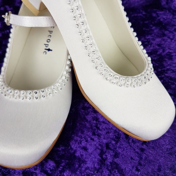 Girls  Communion Shoes 4963
