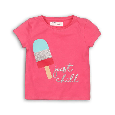 Minotti Girls Short Sleeve Lollypop T-Shirt