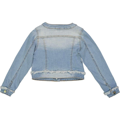 Try Beyond Girls Distressed Denim Jacket
