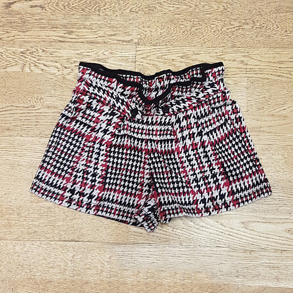 Name it Girls Checked Twill Shorts