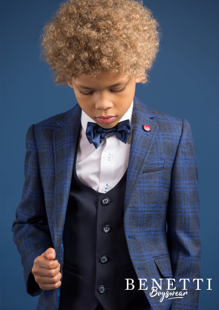 Benetti Boys 3 Piece Thomas Communion Suit