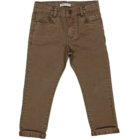 Try Beyond Boys Brown Chino Pants