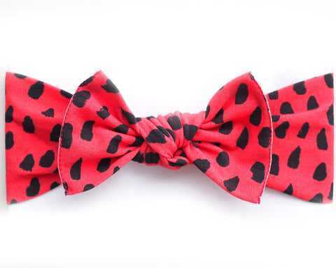 Little Bow Pip Watermelon Print Pippa Bow Hairband
