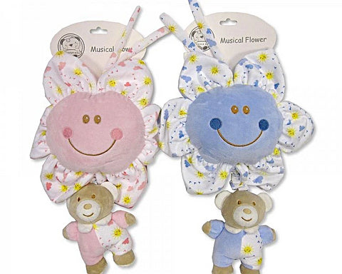 Snuggle Baby Musical Flower Baby Toy