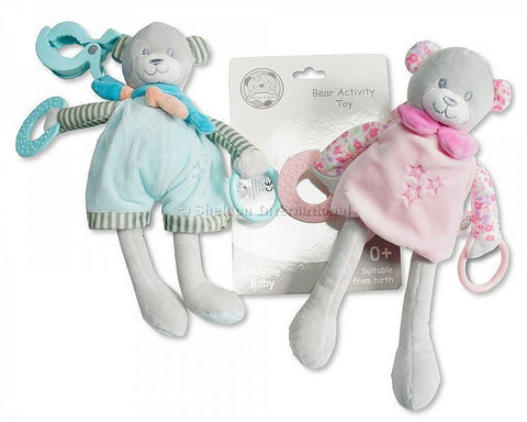 Snuggle Baby Bear Activity Toy