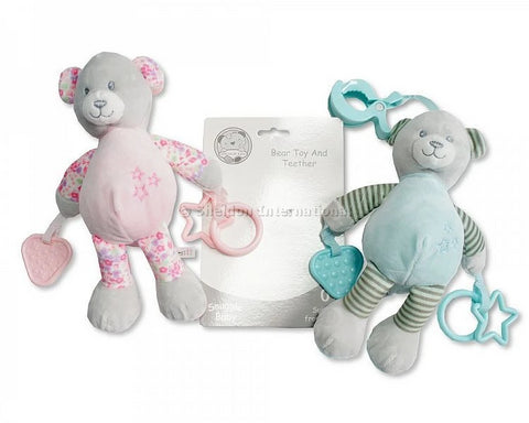 Snuggle Baby Bear Toy and Teether