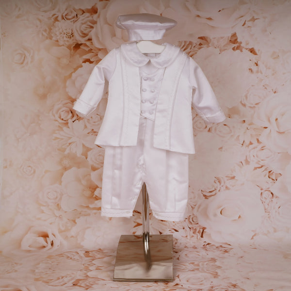 Boys 3-Piece Christening Suit by Sweetie Pie
