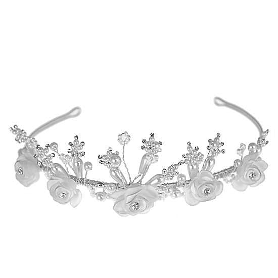 Communion Tiara by Linzi Jay LM142WTSI