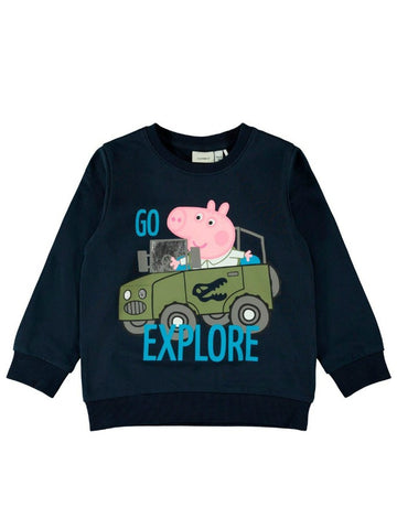 Name it Mini Boy Peppa Pig Sweat Top