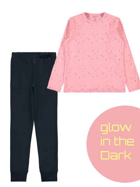 Name it Girls Glow in The Dark PJs