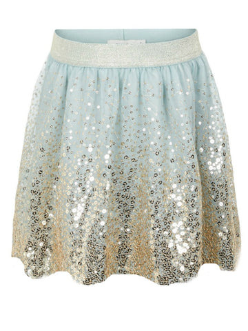 Name it Girls Organza Sequin Skirt