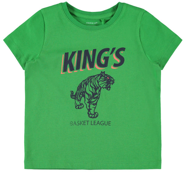 Name it Mini Boy Short Sleeved T-Shirt with Colourful Graphic
