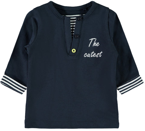 Name it Baby Boy Long Sleeve Cute Graphic Top