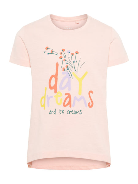 Name it Mini Girl Short Sleeved Printed T-Shirt
