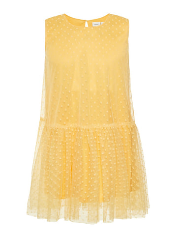 Girls Name it Lemon Tulle Dress