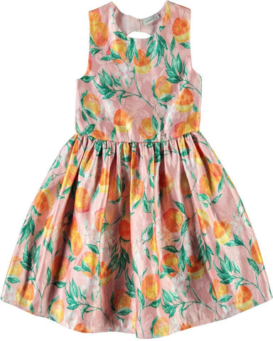 Name it Girls Beautiful Peach Party Dress