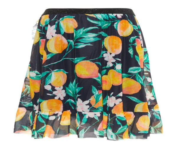 Name it Girls Wrap Skirt in Organza Print
