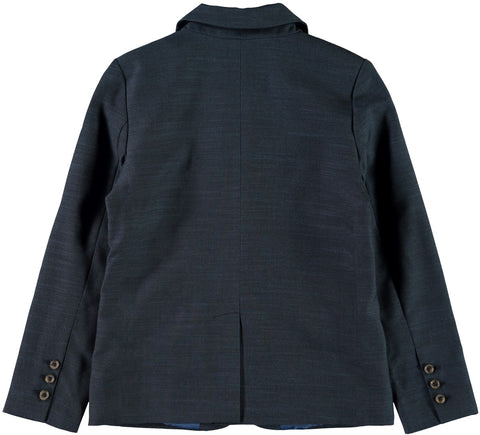Name it Boys Button Up Blazer in Dark Sapphire
