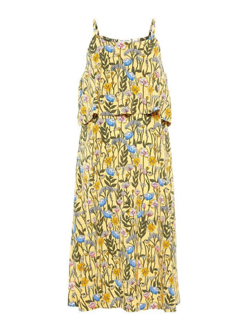 Name it Girls Long Floral Strap Dress