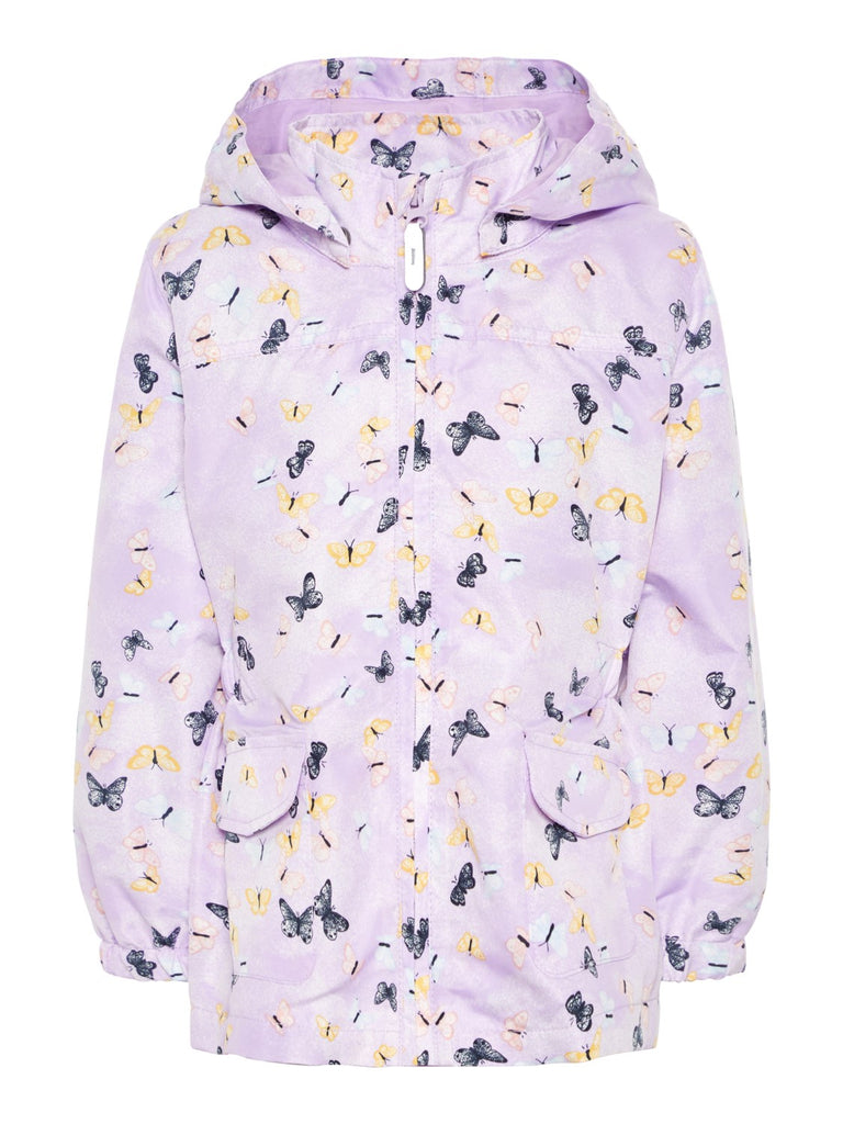 Name it Mini Girl Jacket with Butterfly Print