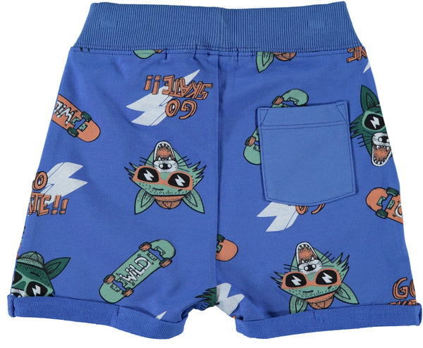 Name it Mini Boy Printed Sweat Shorts