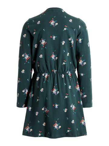 Name it Girls Long Sleeved Floral Print Dress