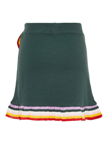 Name it Girls Ribbed Rainbow Frilled Skirt
