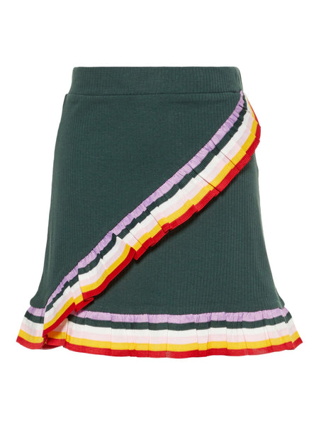 Girls Rainbow Frill Pull-Up Skirt by Name it