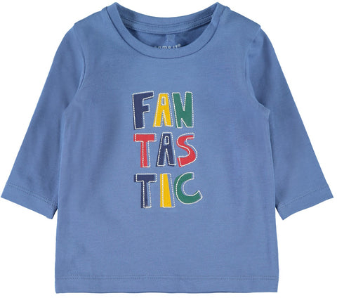 Baby Boy Long Sleeve FANTASTIC Top