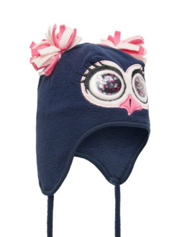 Name it Mini Girl Sequin Owl Hat