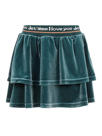 Name it Mini Girl Velvet Skirt