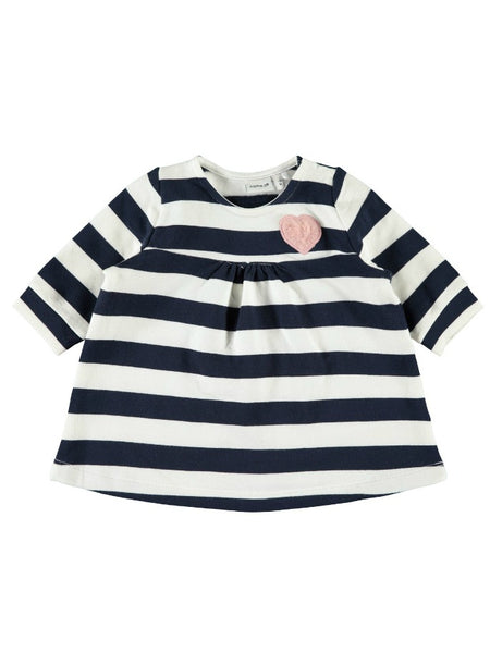 Name it Baby Girl Stripy 3-Piece Dress Set