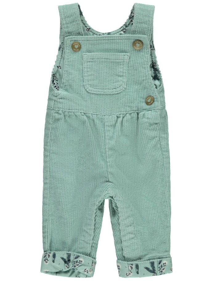 Name it Baby Girl Mint Corduroy Dungaree