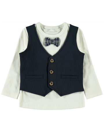 Name it Boys Long Sleeved Waistcoat Top
