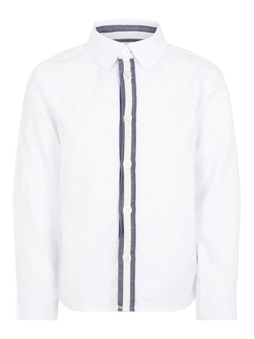 Name it Boys Long Sleeved White Shirt