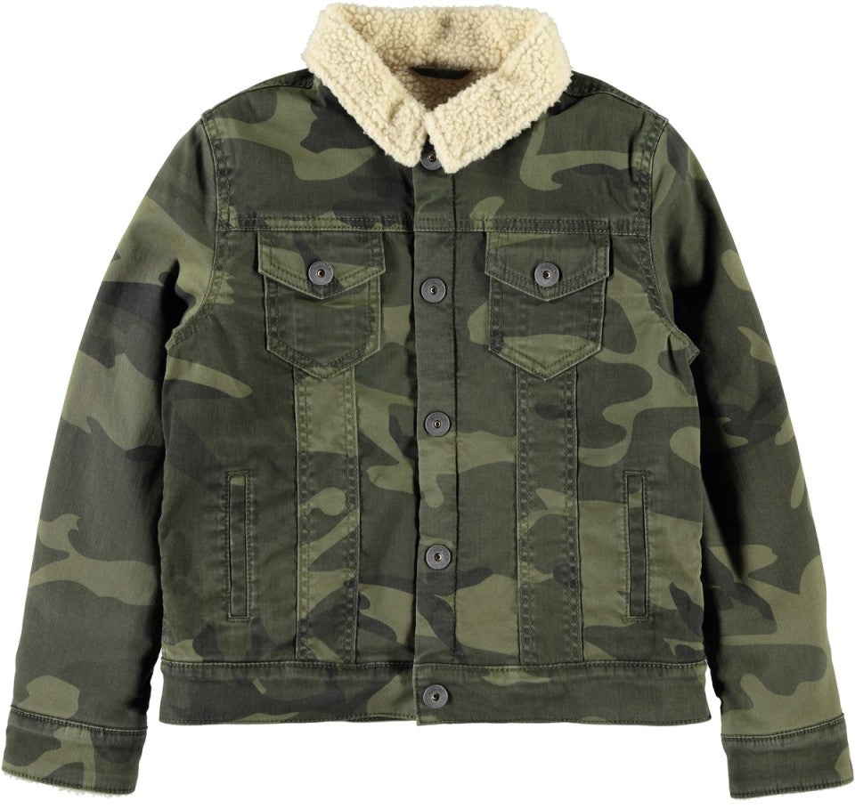 Name it Boys Camouflage Fashion Jacket