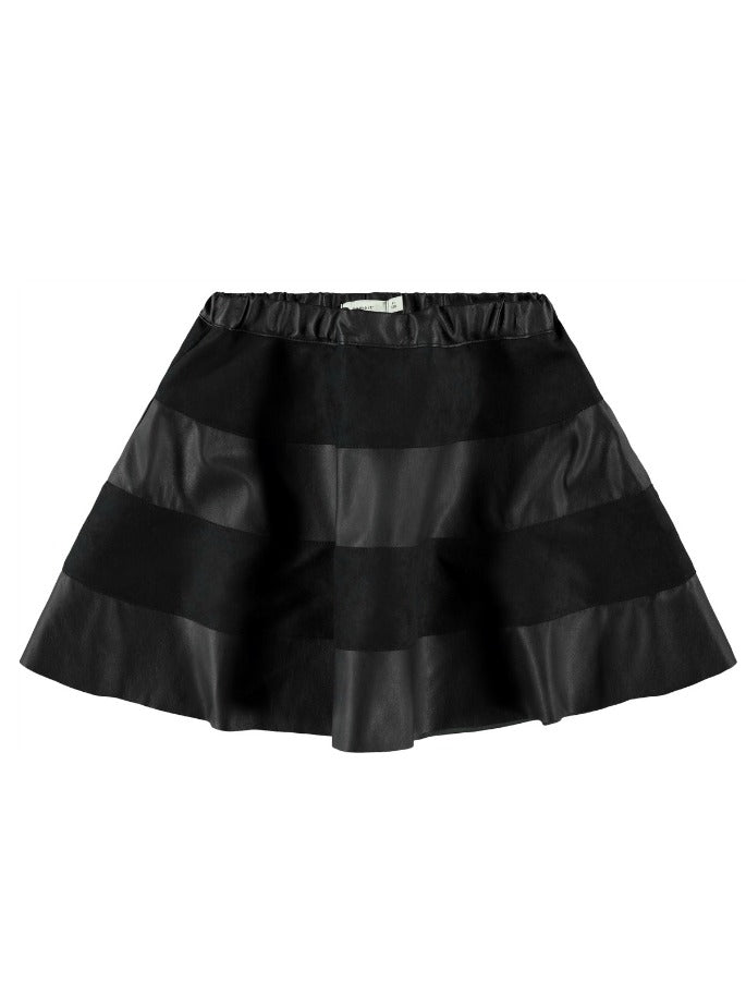 Name it Girls Black Skater Skirt