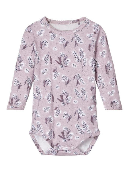 Name it Baby Girl Floral Bodysuit