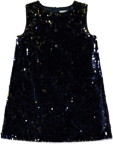 Name it Girls Blue Sequin Dress